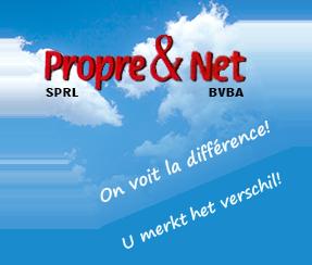 Propre & Net - Entreprise de nettoyage